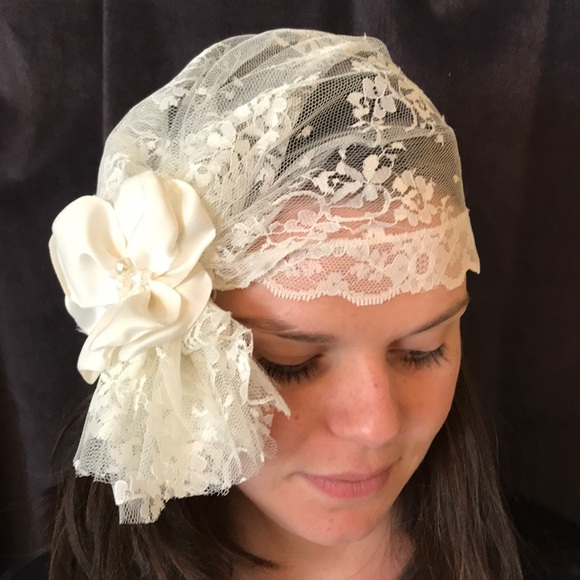 the yellow peony Accessories - Bridal Head Wrap